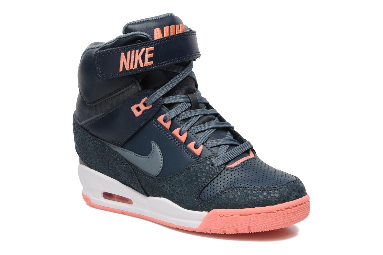 Baskets Nike Wmns Nike Air Revolution Sky Hi Gris vue détail/paire