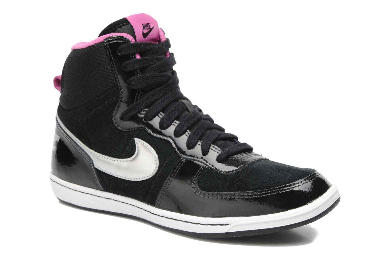 Wmns Nike Terminator Lite Hi Black/Metallic Silver-Clb Pink-White