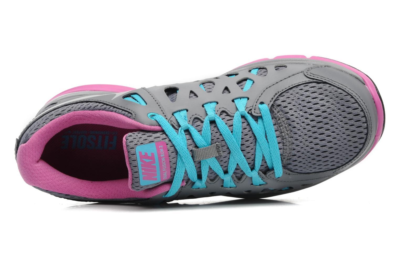 Wmns Nike Dual Fusion Run 2 Cl Grey/Metallic Platinium-Gmm Bl-Clb P
