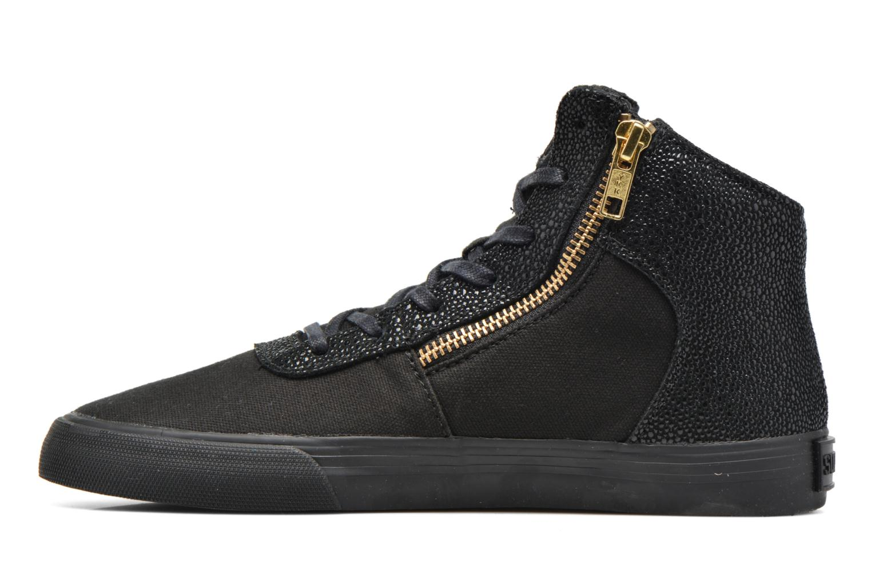 Sneaker Supra Cuttler W schwarz ansicht von vorne