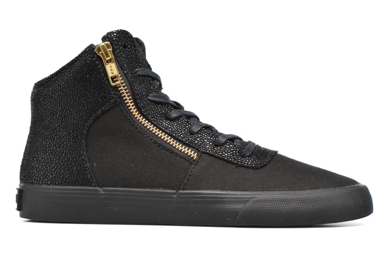 Sneaker Supra Cuttler W schwarz ansicht von hinten