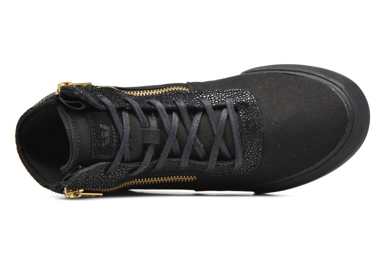 Sneaker Supra Cuttler W schwarz ansicht von links