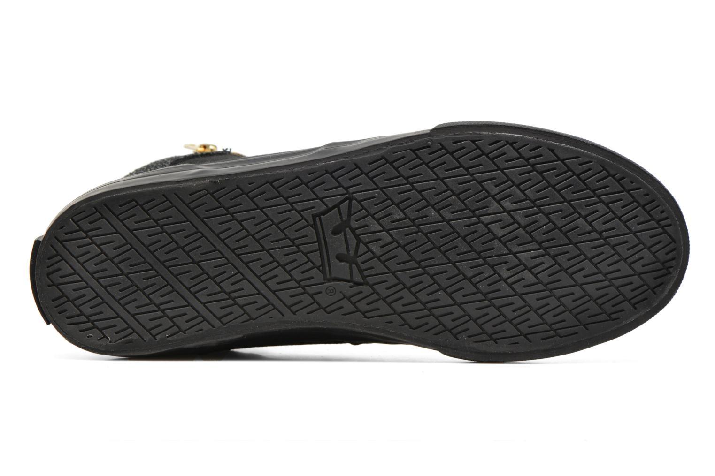 Sneaker Supra Cuttler W schwarz ansicht von oben