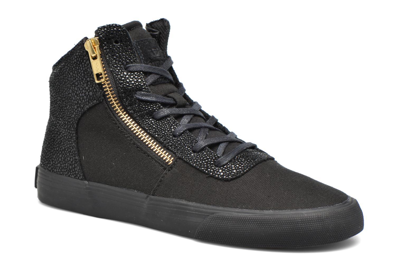 Sneaker Supra Cuttler W schwarz detaillierte ansicht/modell