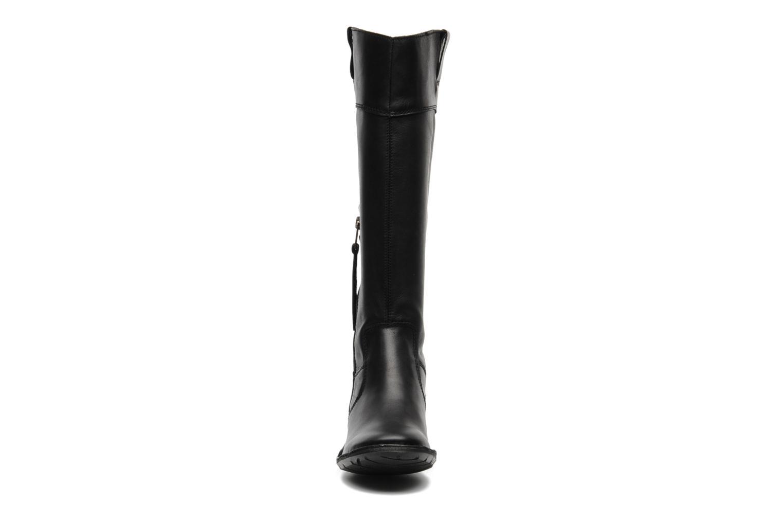 Bottes Kickers GROOVE UP Noir vue portées chaussures