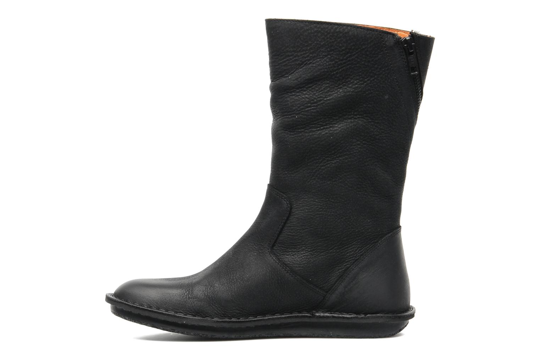 Bottines et boots Kickers WAX TURN Noir vue face