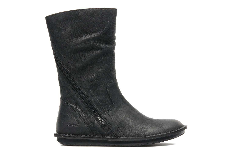 Bottines et boots Kickers WAX TURN Noir vue derrière