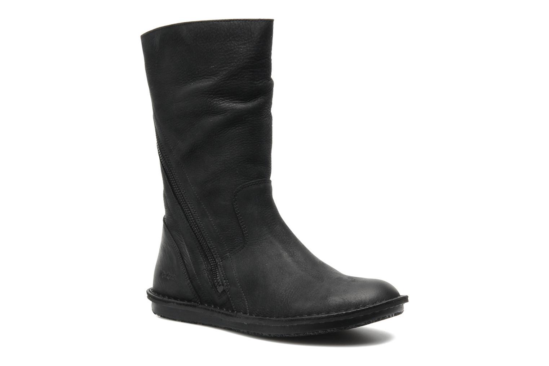 Bottines et boots Kickers WAX TURN Noir vue détail/paire