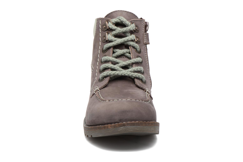 Bottines et boots Kickers HAIKRAFT Marron vue portées chaussures