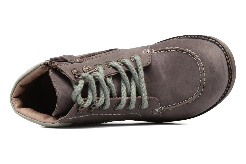 Bottines et boots Kickers HAIKRAFT Marron vue gauche