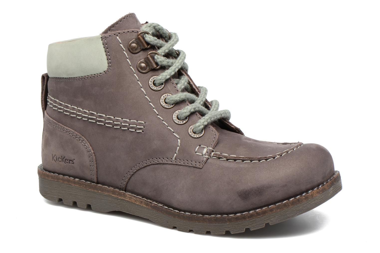 Bottines et boots Kickers HAIKRAFT Marron vue détail/paire