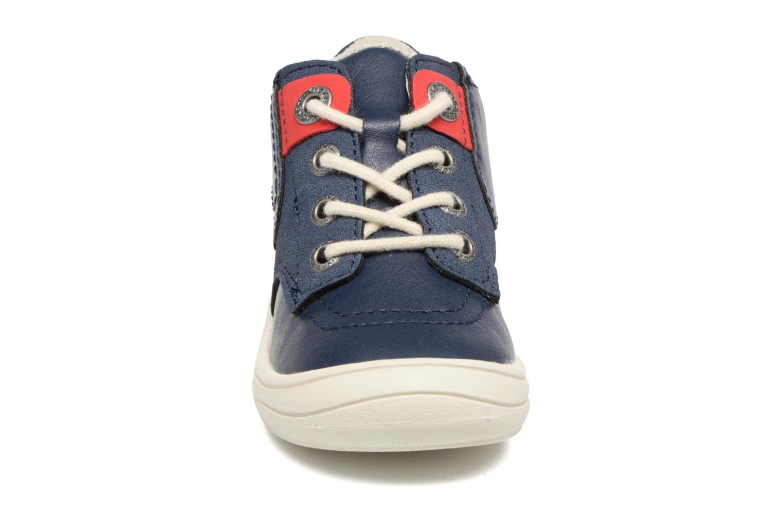 Sneakers Kickers ZELIG Azzurro modello indossato