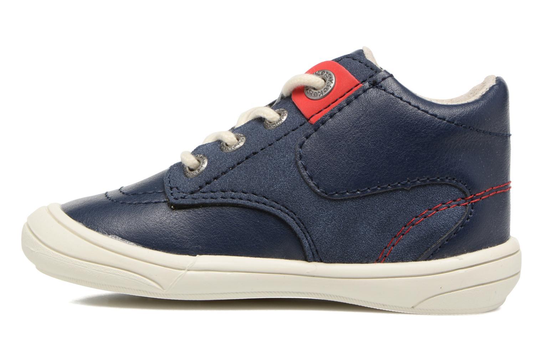 Sneakers Kickers ZELIG Azzurro immagine frontale