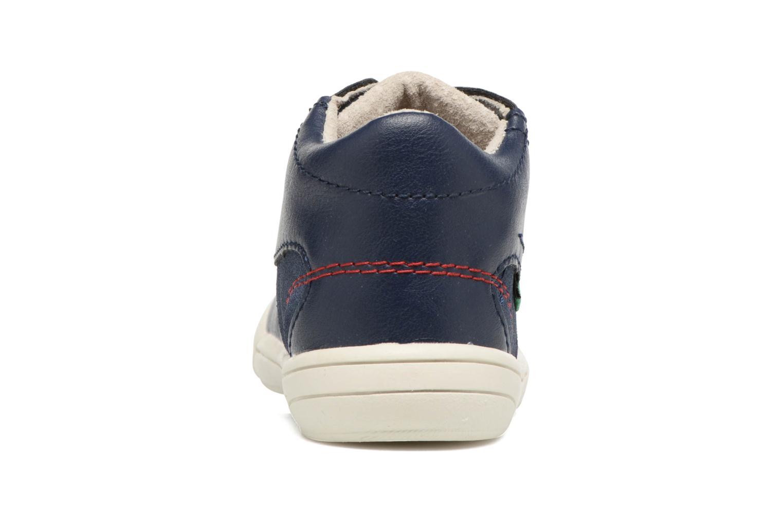 Sneakers Kickers ZELIG Blå Se fra højre