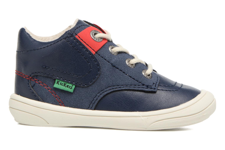 Sneakers Kickers ZELIG Blå se bagfra