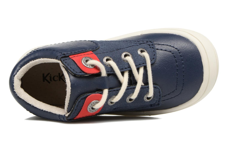 Sneakers Kickers ZELIG Azzurro immagine sinistra