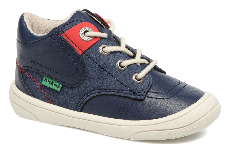 Sneakers Kickers ZELIG Blå detaljeret billede af skoene