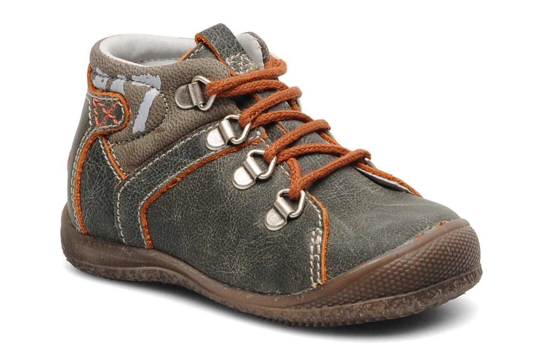 Bottines et boots GBB Dany Gris vue détail/paire