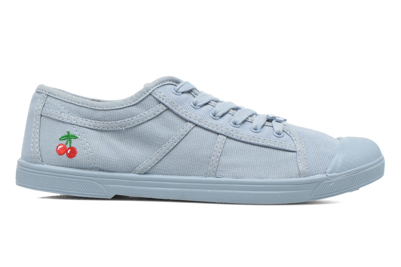 Sneakers Le temps des cerises Basic 02 Mono Azzurro immagine posteriore