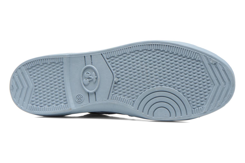 Sneakers Le temps des cerises Basic 02 Mono Azzurro immagine dall'alto