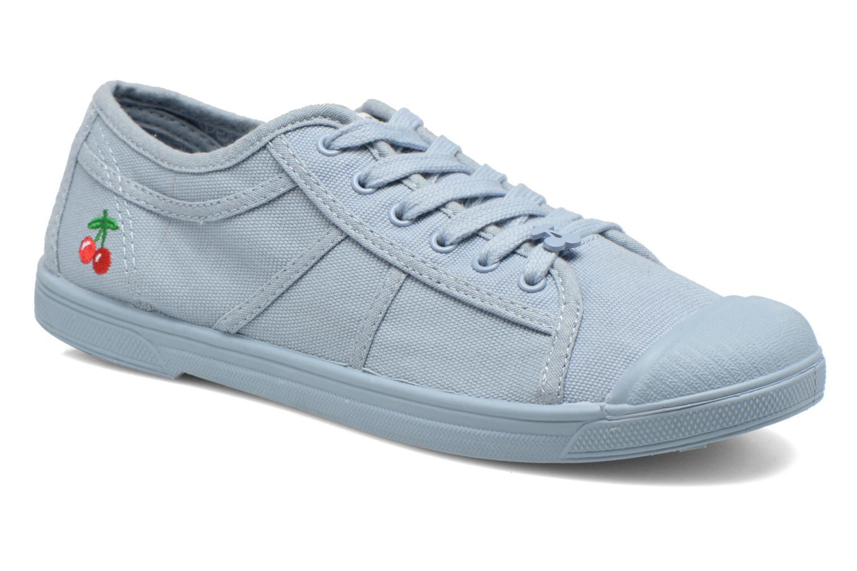 Sneakers Le temps des cerises Basic 02 Mono Azzurro vedi dettaglio/paio