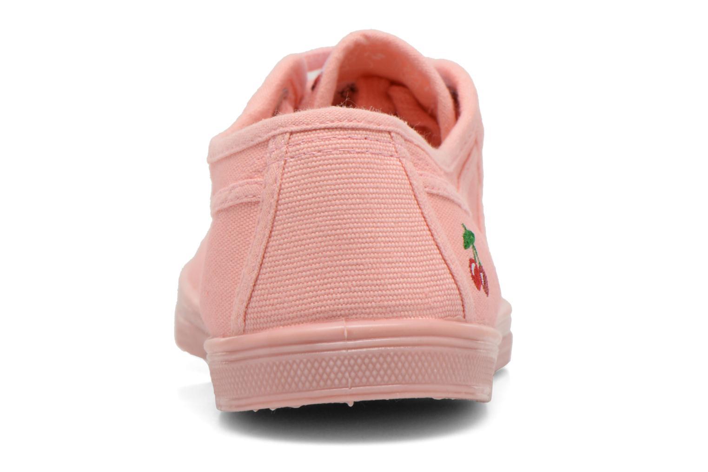 Sneakers Le temps des cerises Basic 02 Mono Rosa immagine destra