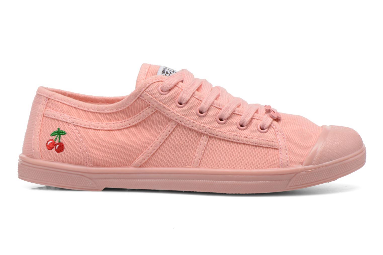 Sneakers Le temps des cerises Basic 02 Mono Rosa immagine posteriore
