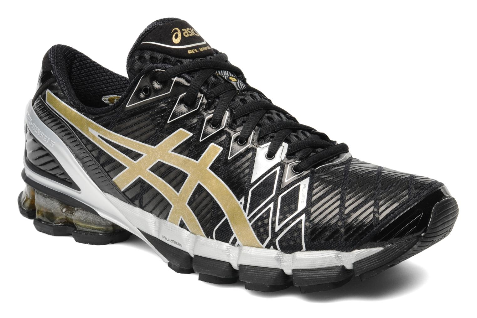 Sport shoes Asics Gel-Kinsei 5 Black detailed view/ Pair view