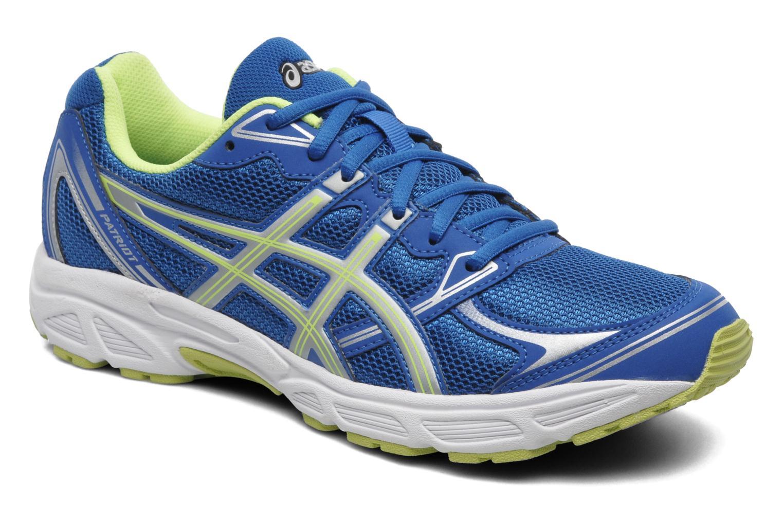 Sport shoes Asics Patriot 6 Blue detailed view/ Pair view
