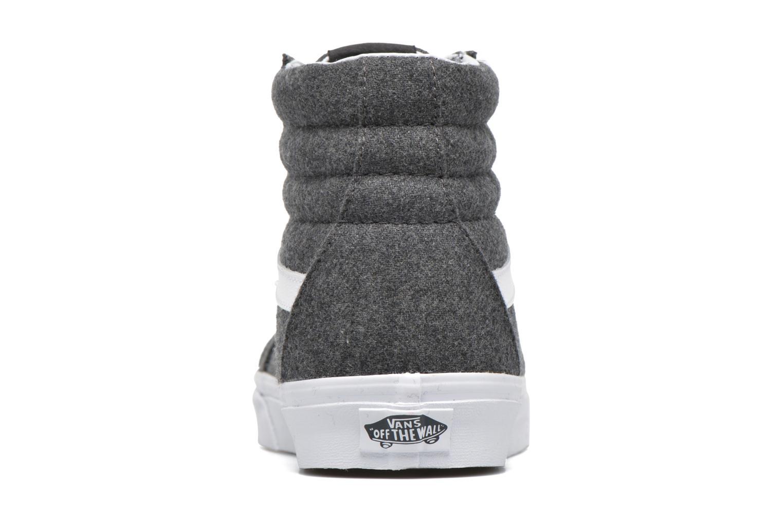 Sneaker Vans Sk8-Hi Reissue grau ansicht von rechts
