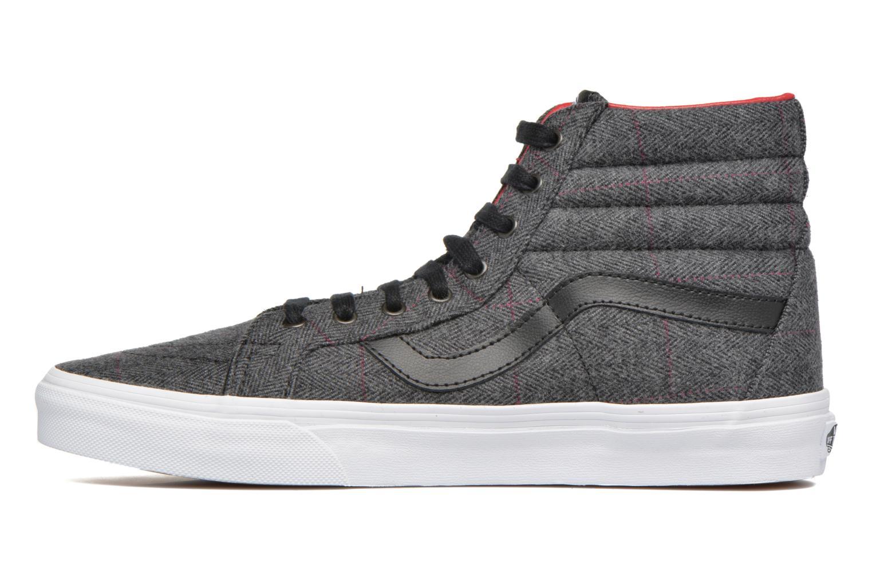 Sneaker Vans Sk8-Hi Reissue schwarz ansicht von vorne