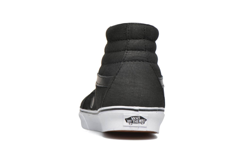 Baskets Vans Sk8-Hi Reissue Noir vue droite