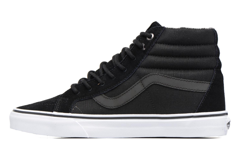 Baskets Vans Sk8-Hi Reissue Noir vue face
