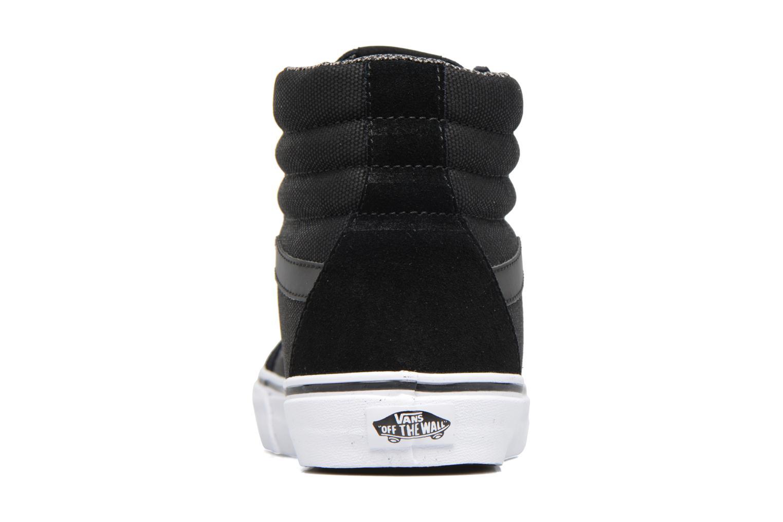 Sneakers Vans Sk8-Hi Reissue Zwart rechts