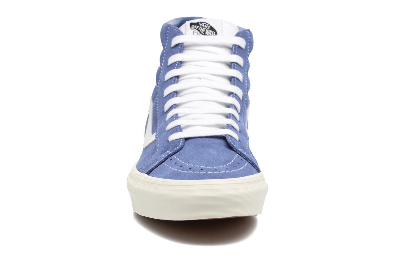 Sneaker Vans Sk8-Hi Reissue blau schuhe getragen