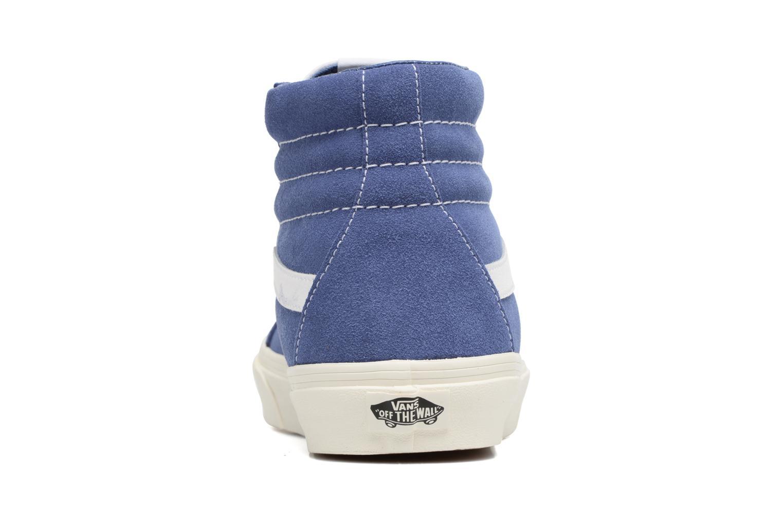 Sneaker Vans Sk8-Hi Reissue blau ansicht von rechts