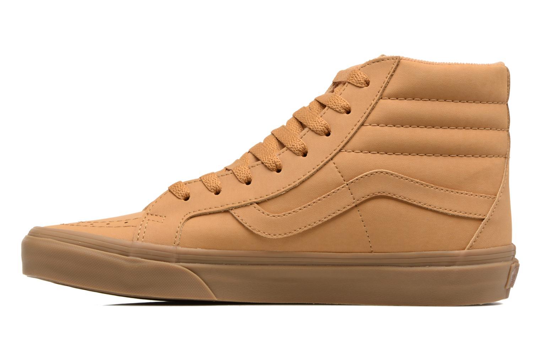 Sneakers Vans Sk8-Hi Reissue Beige voorkant