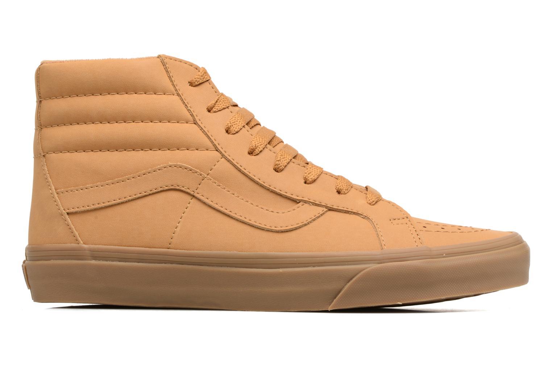 Sneaker Vans Sk8-Hi Reissue beige ansicht von hinten