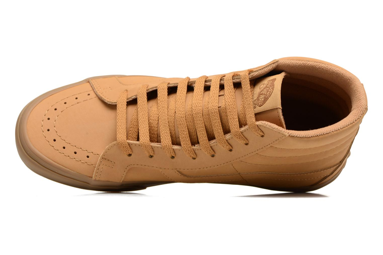 Sneaker Vans Sk8-Hi Reissue beige ansicht von links