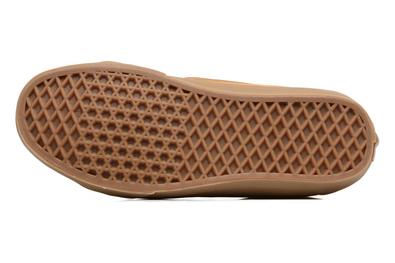 Sneaker Vans Sk8-Hi Reissue beige ansicht von oben