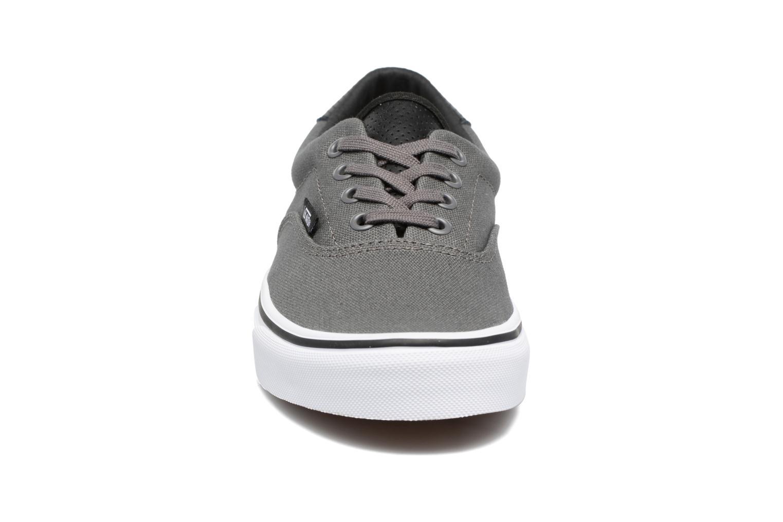 Sneaker Vans Era 59 W grau schuhe getragen