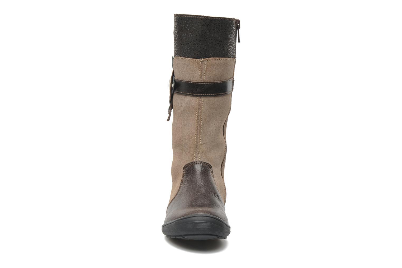 Bottes Bopy Sakio Marron vue portées chaussures