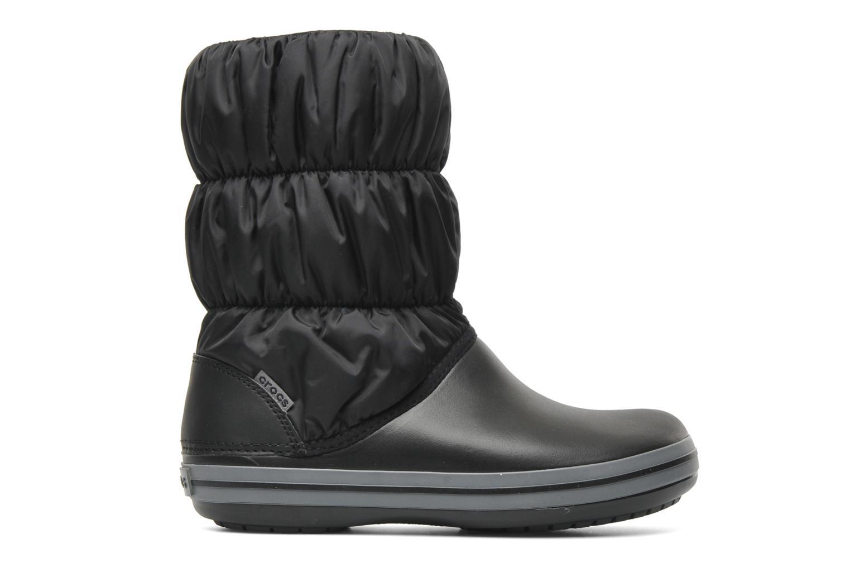 Ankelstøvler Crocs Winter Puff Boot Sort se bagfra
