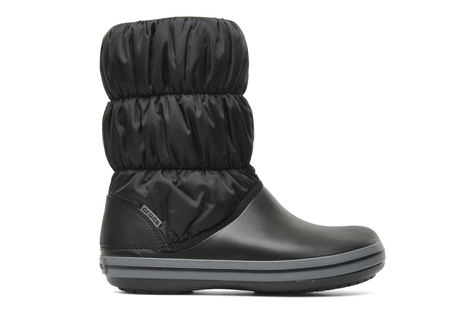 Botines  Crocs Winter Puff Boot Negro vistra trasera