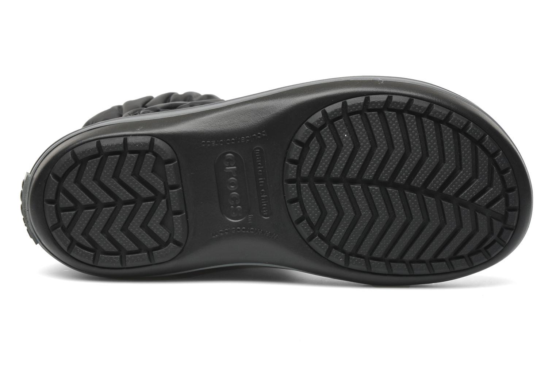 Stiefeletten & Boots Crocs Winter Puff Boot schwarz ansicht von oben