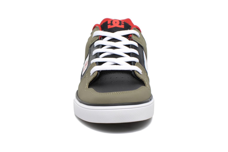 Baskets DC Shoes PURE B Vert vue portées chaussures