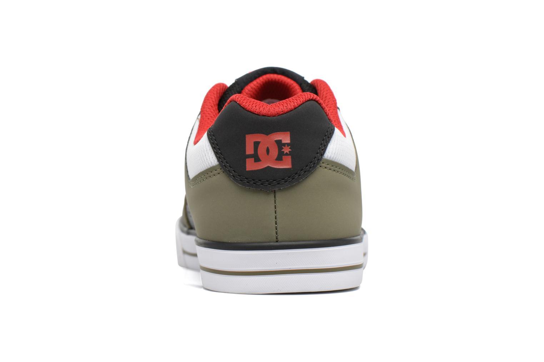 Baskets DC Shoes PURE B Vert vue droite