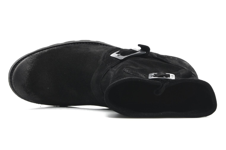 Bottines et boots P-L-D-M By Palladium Upcast Sud Noir vue gauche