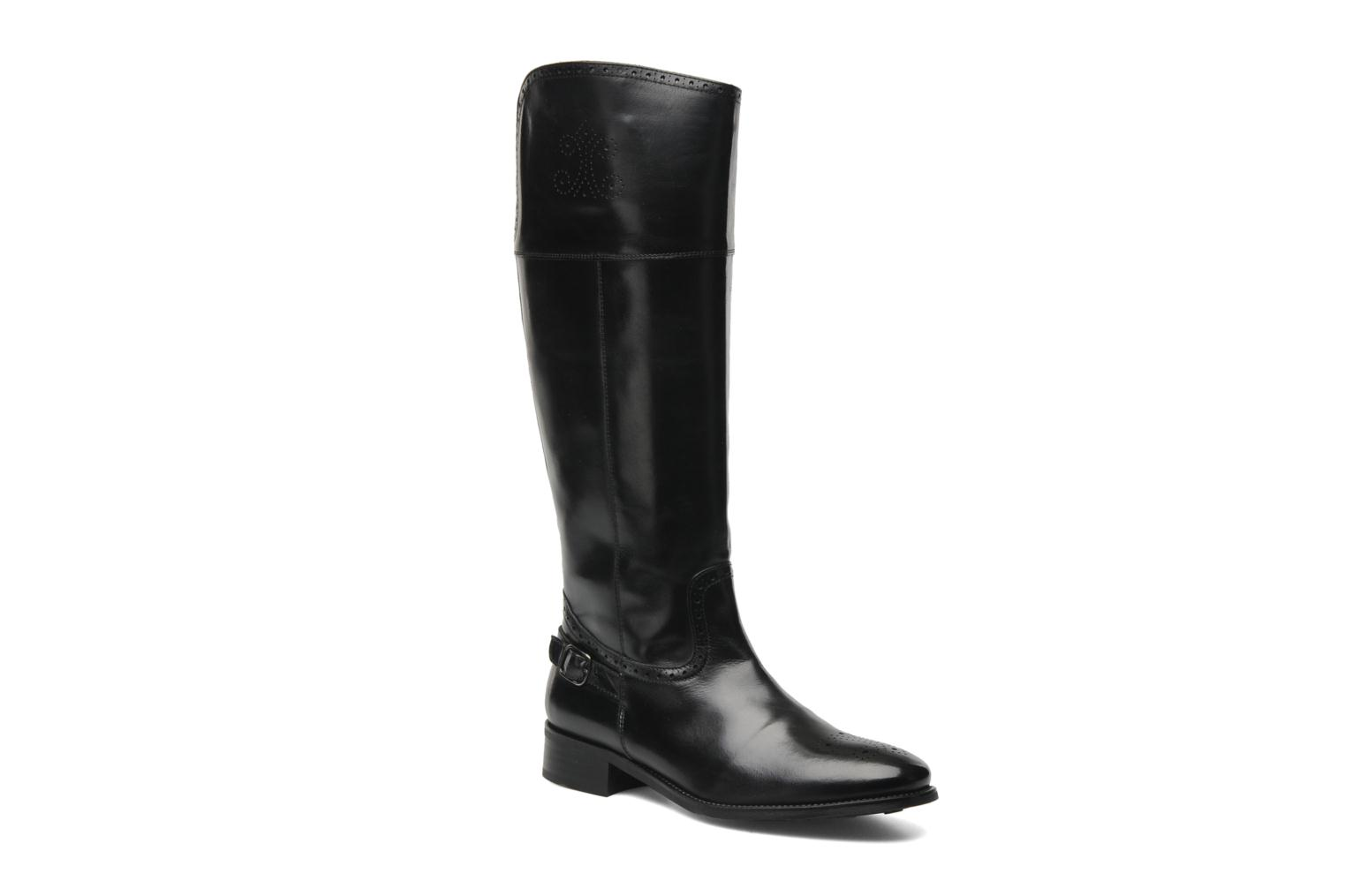Boots & wellies Georgia Rose Amou Black detailed view/ Pair view