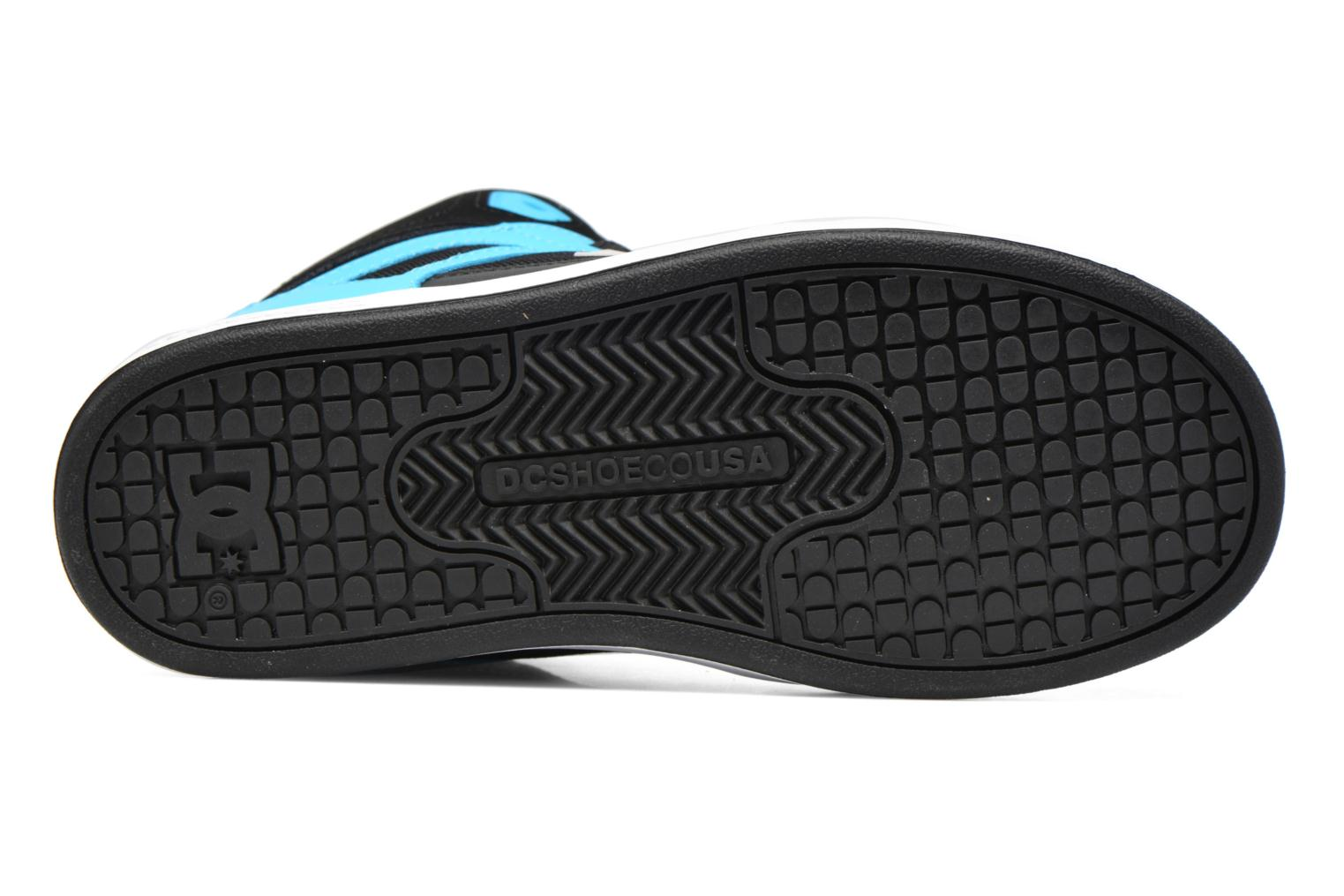 Trainers DC Shoes REBOUND B Black view from above